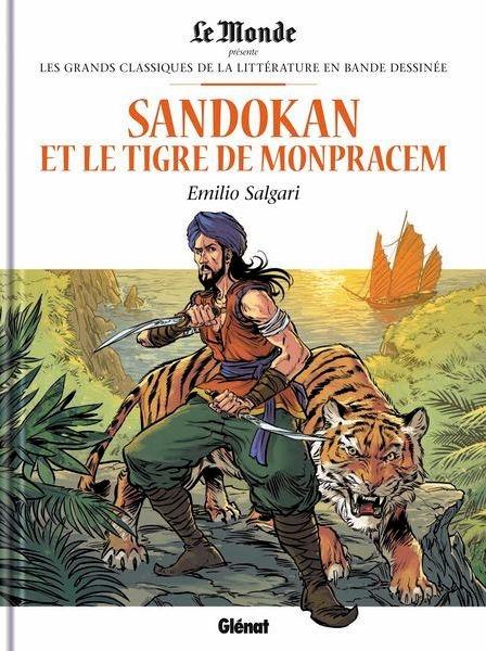 Couverture Sandokan et le tigre de Mompracem