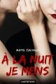 Couverture À la nuit je mens / Girls in the dark Editions Castelmore 2018