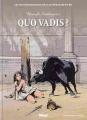 Couverture Quo vadis ? Editions Glénat (Les incontournables de la littérature en BD) 2010