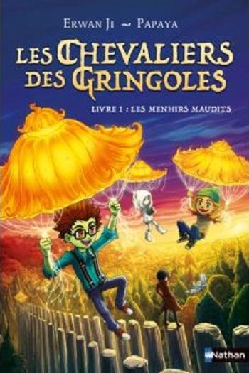 Couverture Les chevaliers Des Gringoles, tome 1 : Les menhirs maudits
