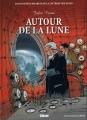 Couverture Autour de la lune Editions Glénat (Les incontournables de la littérature en BD) 2010
