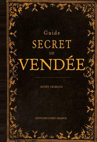 Couverture Guide secret de la Vendée