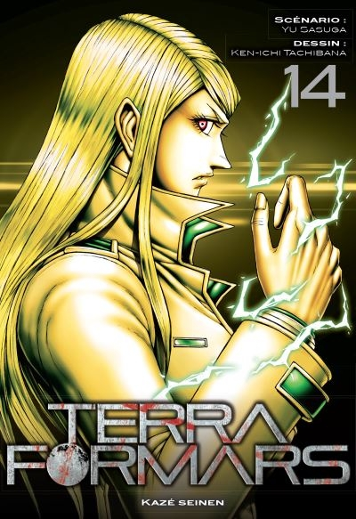 Couverture Terra Formars, tome 14