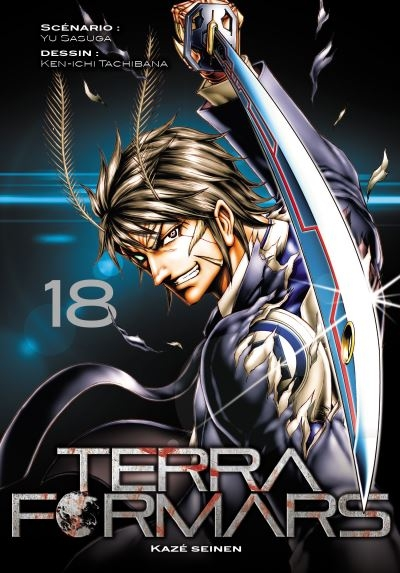 Couverture Terra Formars, tome 18