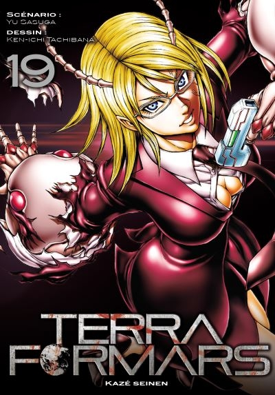 Couverture Terra Formars, tome 19