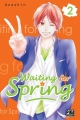 Couverture Waiting for spring, tome 02 Editions Pika (Shôjo - Cherry blush) 2018