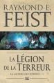 Couverture La guerre des démons, tome 1 : La légion de la terreur Editions Bragelonne 2018