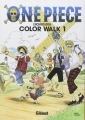 Couverture One Piece : Color walk, tome 1 Editions Glénat 2006