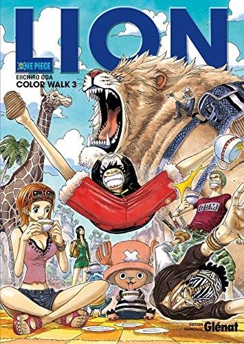 Couverture One Piece : Color walk, tome 3 : Lion