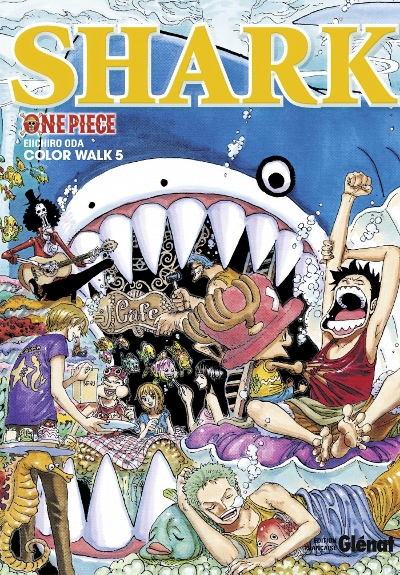 Couverture One Piece : Color walk, tome 5 : Shark