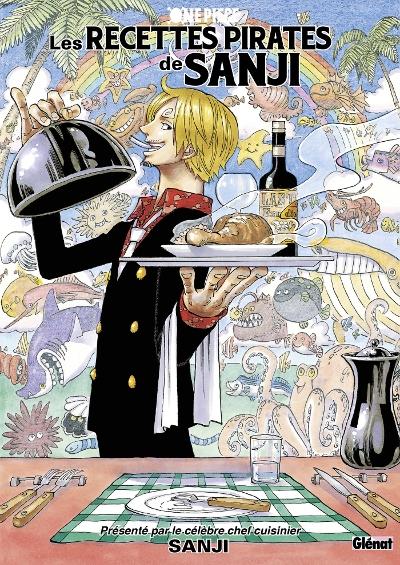Couverture One Piece : Les recettes pirates de Sanji