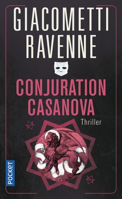 Couverture Commissaire Antoine Marcas, tome 02 : Conjuration Casanova