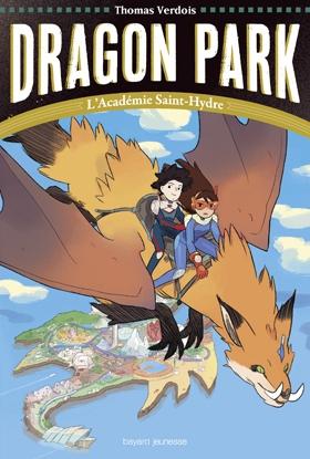 Couverture Dragon park, tome 1 : L'académie Saint-Hydre