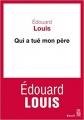 Couverture Qui a tué mon père Editions Seuil (Cadre rouge) 2018