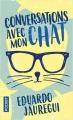 Couverture Conversations avec mon chat Editions Pocket 2018
