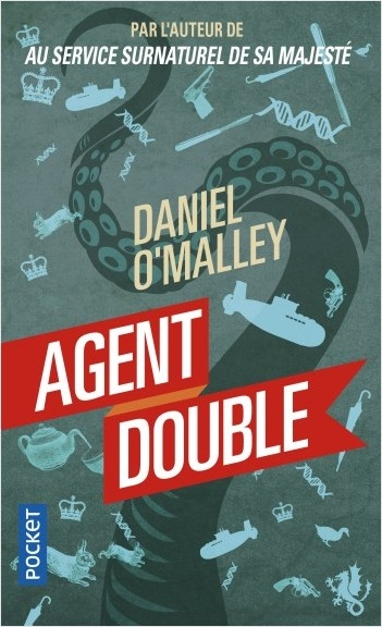 Couverture Au service surnaturel de sa majesté, tome 2 : Agent double