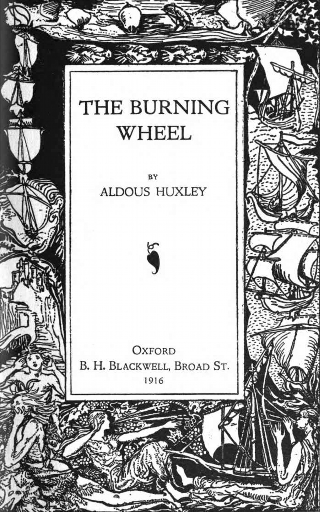Couverture The burning wheel