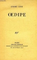 Couverture Oedipe Editions Gallimard  1931