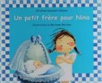 Couverture Un petit frère pour Nina Editions Kaléidoscope (Lutin Poche) 2004
