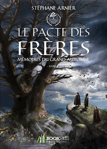 Couverture Mémoires du grand automne, tome 3 : Le pacte des frères