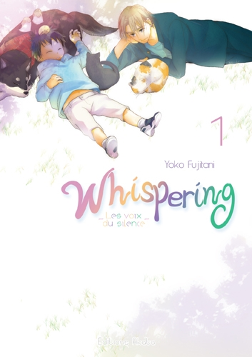 Couverture Whispering : Les voix du silence, tome 1