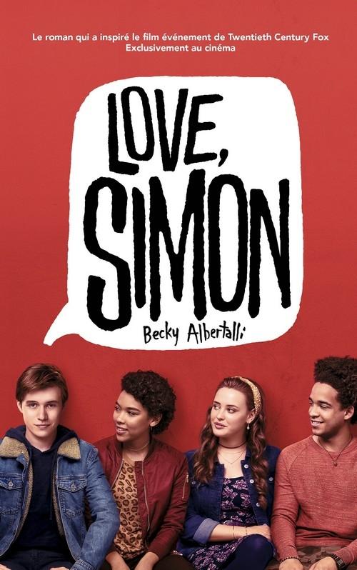 Couverture Moi, Simon, 16 ans, homo sapiens / Love, Simon