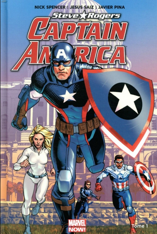 Couverture Captain America : Steve Rogers, tome 1 : Heil Hydra !