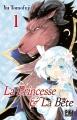 Couverture La princesse et la bête, tome 1 Editions Pika (Shôjo - Purple shine) 2018