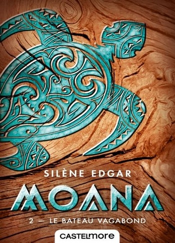 Couverture Moana, tome 2 : Le bateau vagabond