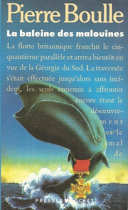 Couverture La baleine des malouines