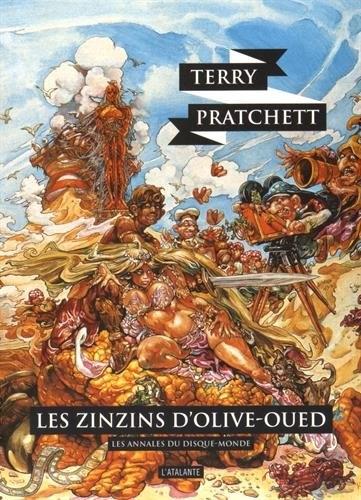 Couverture Les Annales du Disque-Monde, tome 10 : Les Zinzins d'Olive Oued