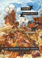 Couverture Les Annales du Disque-Monde, tome 10 : Les Zinzins d'Olive Oued Editions L'Atalante (La Dentelle du cygne) 2015