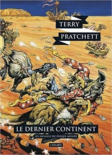 Couverture Les Annales du Disque-Monde, tome 22 : Le Dernier Continent