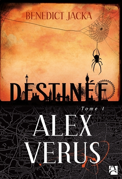 Couverture Alex Verus, tome 1 : Destinée