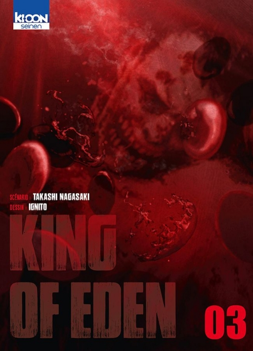 Couverture King of eden, tome 3