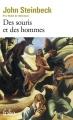 Couverture Des souris et des hommes Editions Folio  2016