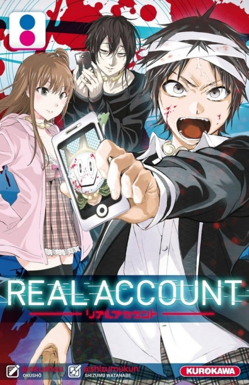 Couverture Real Account, tome 08