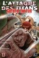 Couverture L'attaque des titans : Before the fall, tome 13 Editions Pika (Seinen) 2018
