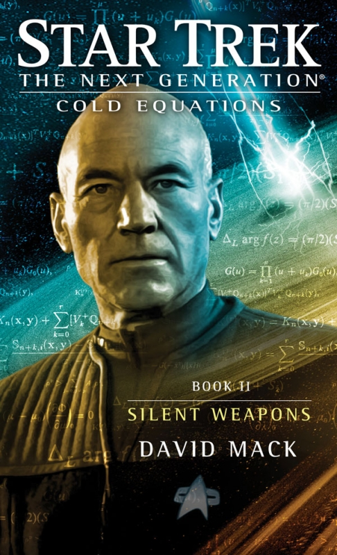 Couverture Star Trek The Next Generation: Cold Equations, book 2: Silent Weapons