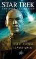 Couverture Star Trek The Next Generation: Cold Equations, book 2: Silent Weapons Editions Pocket Books 2012