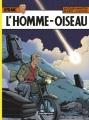 Couverture Lefranc, tome 27 : L'Homme-oiseau Editions Casterman 2016