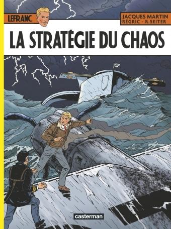 Couverture Lefranc, tome 29 : La Stratégie du Chaos
