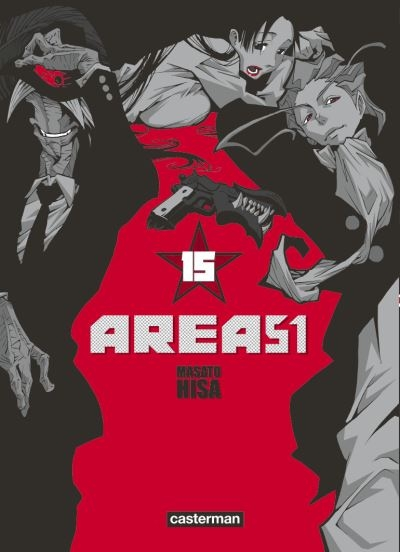 Couverture Area 51, tome 15
