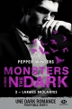 Couverture Monsters in the dark, tome 2 : Larmes brûlantes Editions Milady (Romantica) 2018