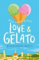 Couverture Love & gelato Editions Walker Books 2017