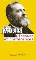 Couverture Discours et conférences Editions Flammarion (Champs - Classiques) 2014