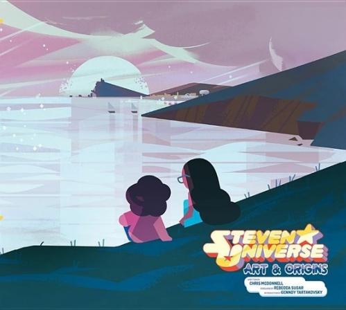 Couverture Steven Universe Art & Origins