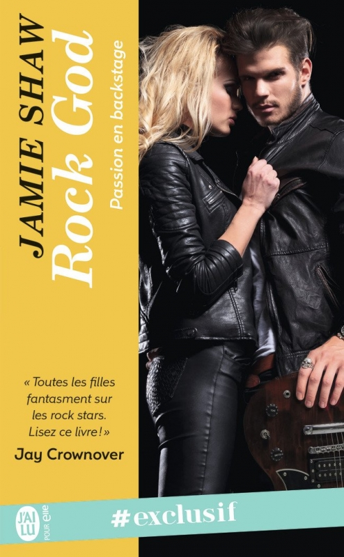 Couverture Passion en backstage, tome 1 : Rock god