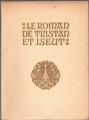 Couverture Le Roman de Tristan et Iseut Editions H. Piazza 1922