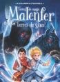 Couverture Malenfer, cycle 2 : Terres de magie, tome 2 : Terres de glace Editions Flammarion (Jeunesse) 2018